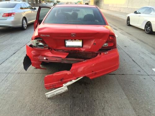 Car accident 405